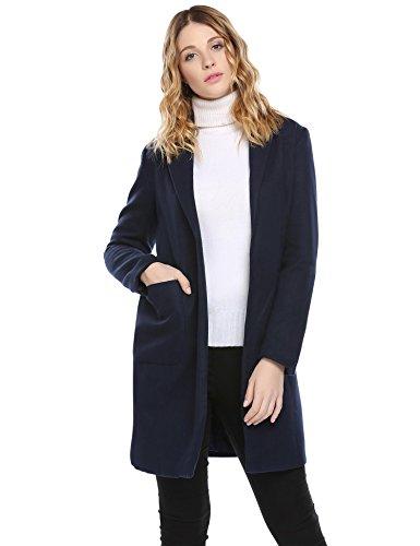 Slant Pockets Wool Coat - 6