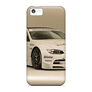 linJUN FENGAwesome Cases Covers/iphone 4/4s Defender Cases Covers(bmw M3 Alms Race Car Front And Side)