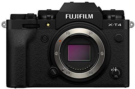 """Fujifilm X-T4 Fotocamera Digitale Mirrorless 26 MP, Sensore X-Trans CMOS 4, Stabilizzatore IBIS, Filmati 4K 60p, Mirino EVF, Schermo LCD 3"""" Touch Vari-Angle, Solo Corpo, Nero: Amazon.it: Elettronica"""