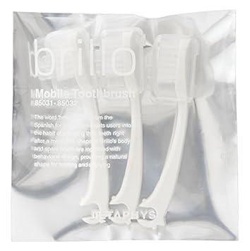 メタフィス携帯歯ブラシ brillo (ブリオ) スペア ホワイト