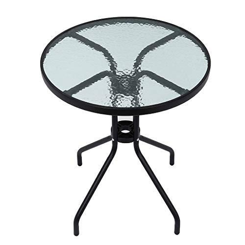 Outdoor Patio Table, 24in Round Bistro Table