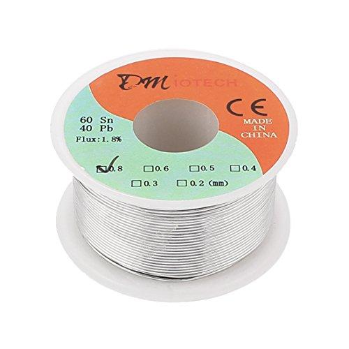 0.8mm 60/40 Tin lead Rosin Core Solder Wire Reel - 8
