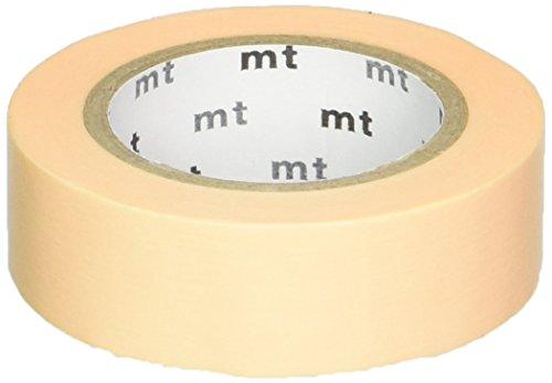 MT Washi Masking Tape, 1P Basic, 15mm x 10m, Pastel Orange (MT01P302)