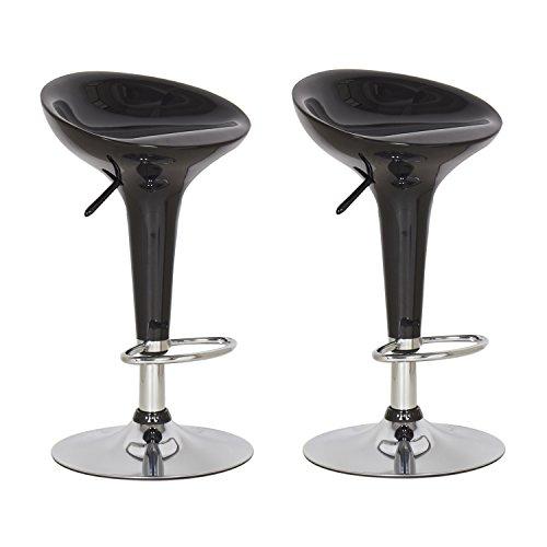 (Joveco Stylish Colorful Swivel Adjustable Bar Stools (black) - Set of 2 Wholesale Price Available)