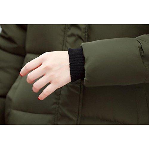 Hooded Cotton Female A Winter Lady Thicker Coat Medium 2017 Down Coat Long Korean Slim Cotton aXw8F