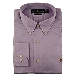 Polo Ralph Lauren Classic-Fit Pinpoint Dress Shirt