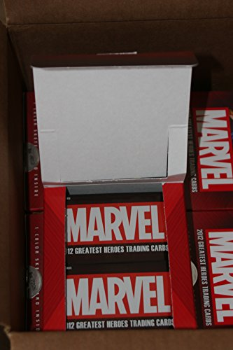 2012 Marvel Greatest Heroes Trading Cards OPEN Box 24 Sealed Packs NO (Heroes Sketch Cards)