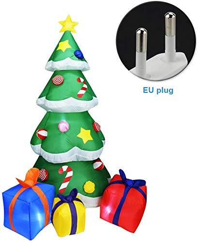 xiegons0 Inflable Navidad Árbol Navidad Hinchable Árbol con Cajas ...