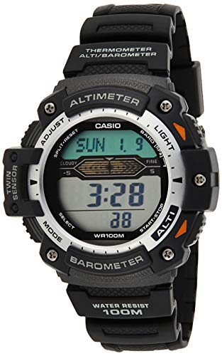 Casio Mens Quartz Watch, Digital Display and Plastic Strap SGW-300H-1AVER