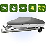 Heavy Duty Boat Covers 300D Three Sizes Water Proof Trailerable Fishing Ski Covers