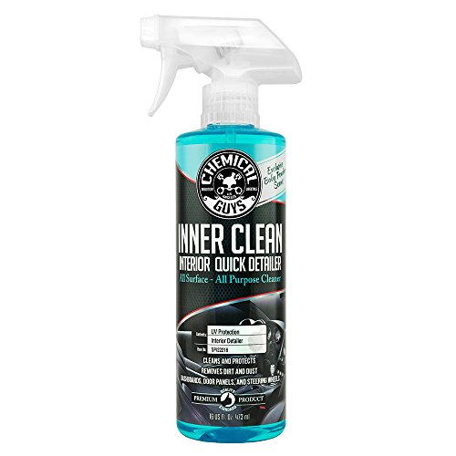 Chemical Guys SPI22216 InnerClean Interior Quick Detailer & Protectant (Baby Powder Scent) (16 oz) (Best Vinyl Protectant For Cars)