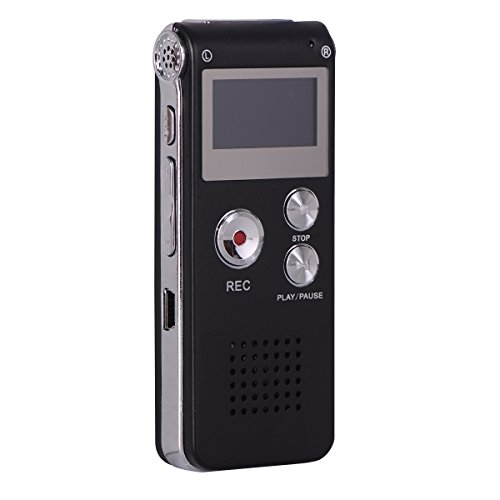 Digital Voice Recorder,KerLiTar K-R01 Voice Activated Recorder for PC Small Tape Recorders for Lectures/Meetings/Interviews