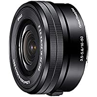 Sony SELP1650 16-50mm Power Zoom Lens (Black, Bulk Packaging) - International Version (No Warranty)