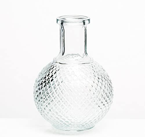 Richland Vase Textured Glass Perfume Set of 24