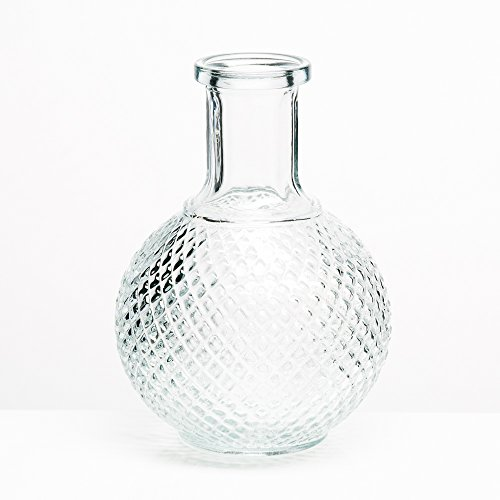 (Richland Vase Textured Glass Perfume Set of 24)