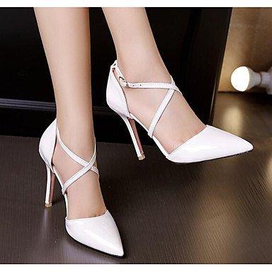 LvYuan-ggx Femme Chaussures à Talons Confort Polyuréthane Eté Décontracté Confort Blanc Noir Jaune 5 à 7 cm yellow Sm2aEKo