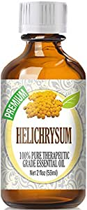 Helichrysum (60ml) 100% Pure, Best Therapeutic Grade Essential Oil - 60ml / 2 (oz) Ounces