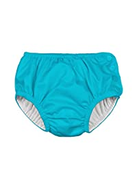 i play. Unisex Baby Reusable Absorbent Side Snap Swim Diaper