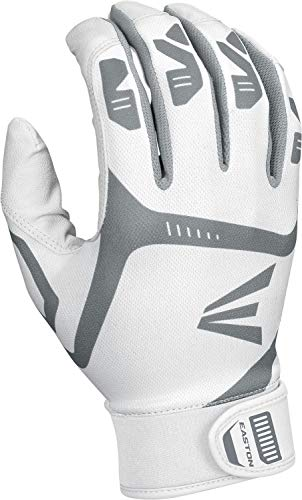 EASTON HYPERLITE Fastpitch Softball Batting Gloves | Pair | Girls | Medium | Mint | 2020 | Flexible & Lightweight Sublimated Design | Durable 2 Piece Palm | Comfort Neoprene Band Strap