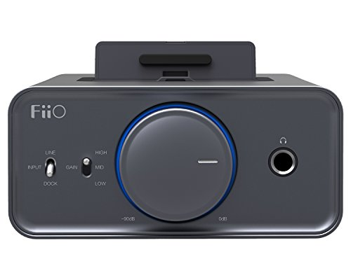 FiiO K5 Docking Headphone Amplifier/DAC, Titanium