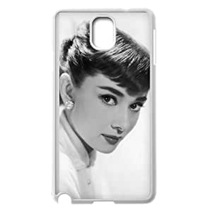 Samsung Galaxy Note 3 Cell Phone Case White Audrey Hepburn S0405605