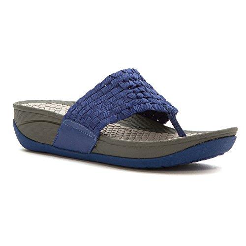 Baretraps Womens Cette Plate-forme Sandale Indigo