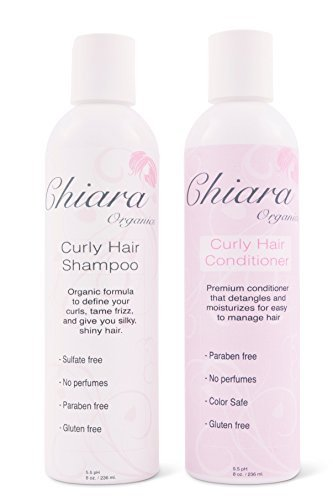 Curly Hair Shampoo Conditioner Set