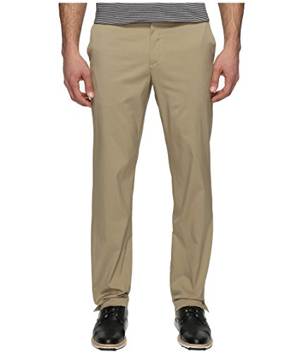 NIKE Men's Flat Front Golf Pants, Khaki/Khaki, Size 34/32 (Apparel Golf Nike Men)