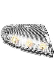 SHU-store Fit voor Auto Front Driver & Passagierszijde Achteruitkijkspiegel Draai Signaallichten Lamp Fit voor Dodge RAM 1500 2009-2014 RAM 2500 2010-2014