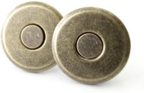 マグネットホック 薄型【差し込みタイプ】 らくらく吸着シリーズ 16㎜ アンティークゴールド 200個
