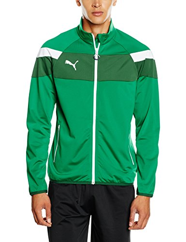 PUMA Herren Jacke Spirit II Woven Jacket, power green-white, XXL, 654661 05