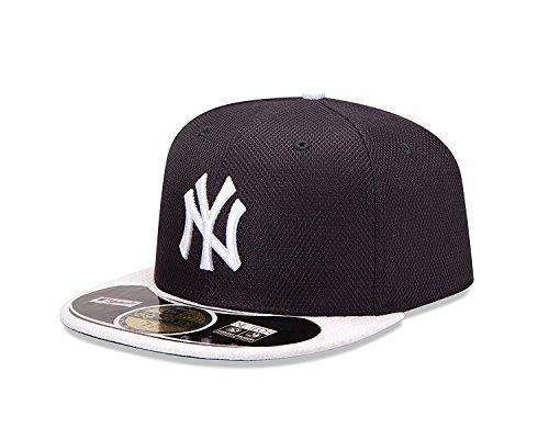 New Era Men's 59Fifty MLB Hat New York Yankees Diamond Era Fitted Cap (7) ()