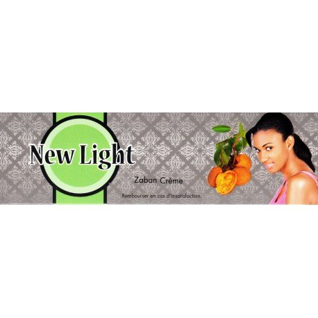 NEW LIGHT Zaban Super Fast Skin Bleaching Cream 47 mle