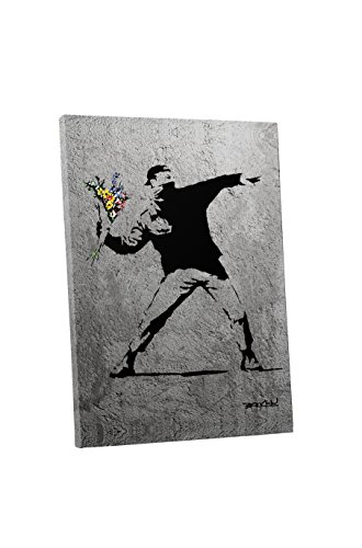 (Pingo World 0829QGHITHY Flower Thrower Concrete Version Gallery Wrapped Canvas Art (45