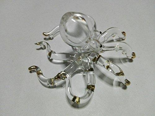 Ayutthaya shop Miniature Hand Blown Art Glass Figurine - (Turbo Protein Skimmer)