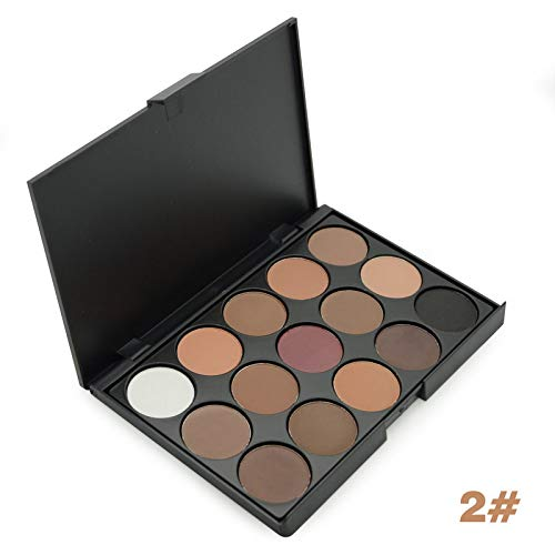 15 Earth Colors Matte Eyeshadow Palette Smoky Nude Cosmetics Makeup Eye Shadow Paletas De Sombras 2