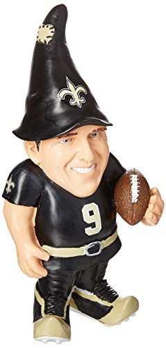 - FOCO New Orleans Saints Brees D. #9 Resin Player Gnome