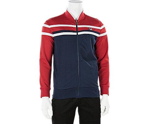 Fila Men's Naso Jacket Peach/Chinese Red/White - Filas Classic