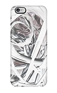 Excellent Design Artistic Patterns White Abstract Other Phone Case For Iphone 6 Plus Premium Tpu Case