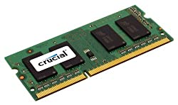 Crucial 2GB Single DDR3 1333 MT/s (PC3-10600) CL9 SODIMM 204-Pin 1.35V/1.5V Notebook Memory Module CT25664BF1339