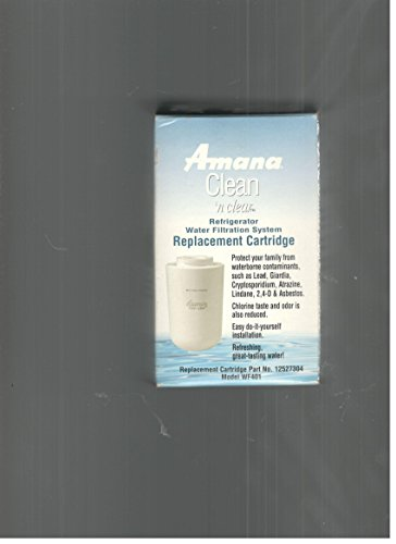 - Amana Clean 'n Clear Water Filter (12527304, WF30, WF40) --(One filter only)