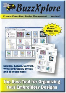 Best Home-Embroidery: BuzzXplore v2 Premier Embroidery Design Management