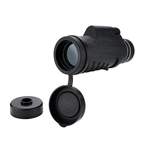 Monocular Telescope WOGO 10x52 Monocular Scope Large Eyepiece for Hunting Camping Hiking Traveling by wogo