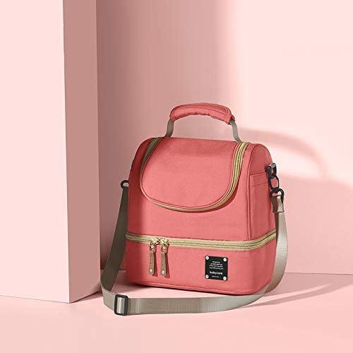 Bolsa t/érmica para beb/és bolsa t/érmica de dise/ño para madres y bebidas fr/ías rosa Rosa