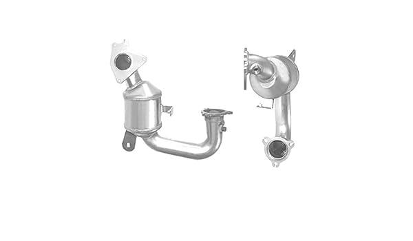 Motexo MT91630H convertidor catalítico de gasolina aprobado para escape + kit de montaje + 2 años de garantía: Amazon.es: Coche y moto