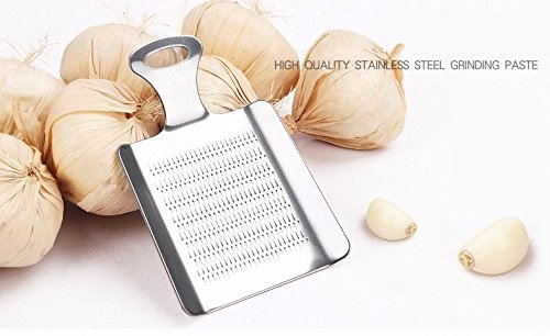 1 Piecce garlic slicer - Portable Mini Stainless Steel Garlic Press Slicer Convenient Ginger Garlic Crusher Chopper Grater Kitchen Tools Gadgets - Garlic Grater Slicer