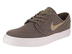 Nike Sb Zoom Stefan Janoski Canvas Deconstructed Men's Skate Shoes Ridgerockkhakivintage Coral (11 D Us)