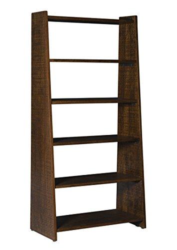 Coast To Coast Wood Bookcases Coast To Coast 15229 Bookcase - 2 Cartons 36 X 74 X 18 Inches Brown Model # 15229