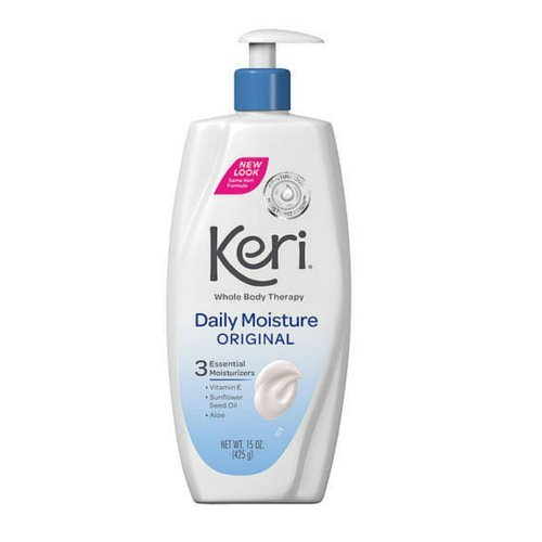 Keri Original Daily Dry Skin Therapy Lotion 20 oz. Pack of 3