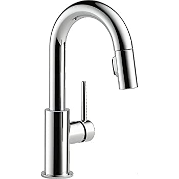 Delta 9959 Dst Single Handle Pull Down Bar Prep Faucet